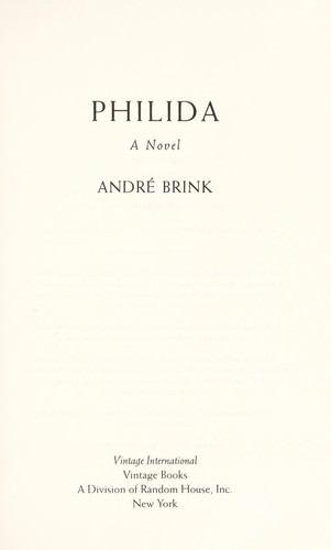 Philida: A Novel