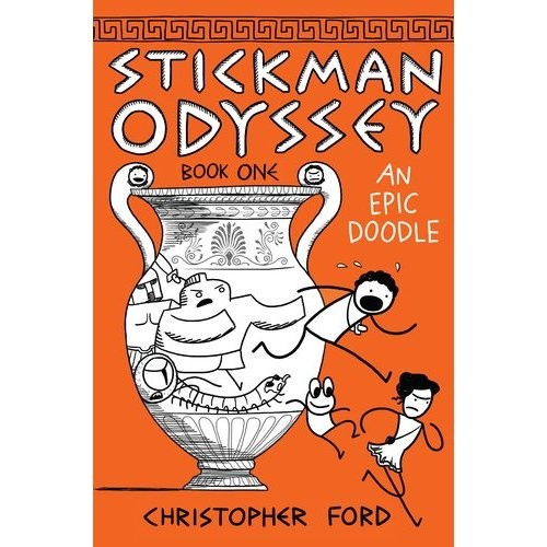 Stickman Odyssey: An Epic Doodle Book One