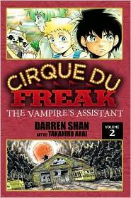 Cirque Du Freak: The Manga, Vol. 2: The Vampire's Assistant