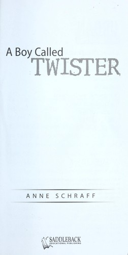 A Boy Called Twister (Urban Underground #3)